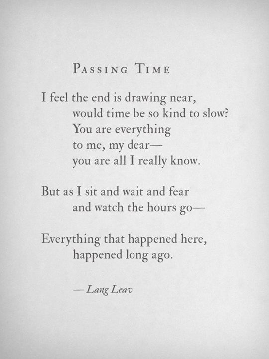 Lang Leav The Words(Poems & Quotes) Pinterest