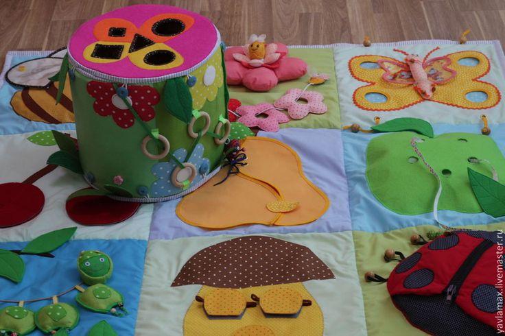 Как сшить коврик для ребёнка 20