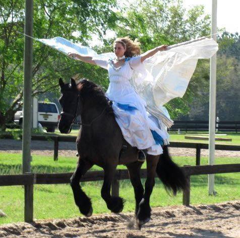 Angel on a horse | Horses & Folks | Pinterest