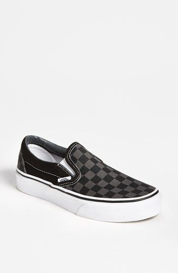 Vans 'Classic - Checker' Sneaker (Women) available at #Nordstrom