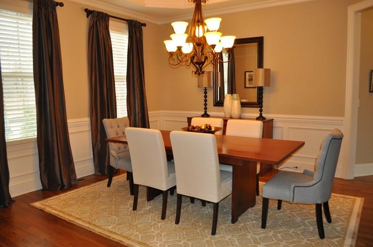 Chair Rail In Dining Room Decor Ideas Pinterest