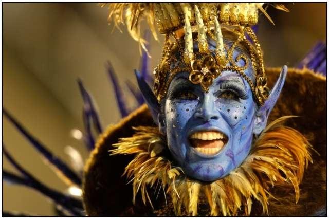 Beautiful Carnival in Rio de Janeiro Photos