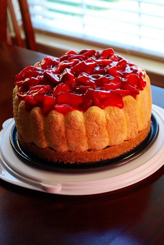 Ladyfinger Cheesecake | Recipes: Cheesecake | Pinterest