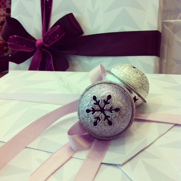 Christmas bells are ringing gift wrapping pinterest