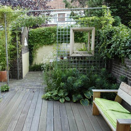Old garden dreams garden rooms - Outdoor patio ideeen ...