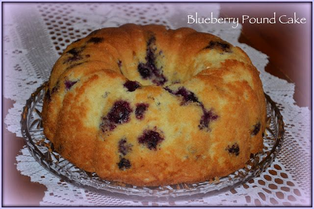 CultureMix: Blueberry-Lime Pound Cake! | Dessert | Pinterest