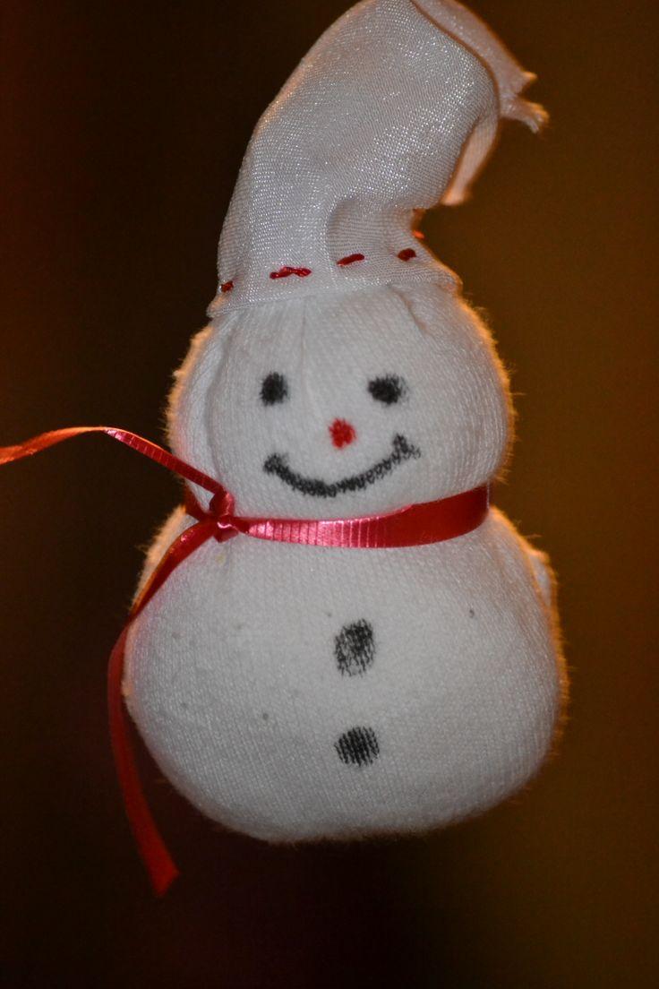 Socks Snowman Crafts | ( ' _ ' ) Kids Crafts | Pinterest