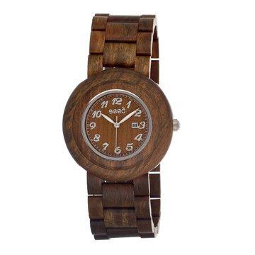 (1) Fab.com | Cambuim Unisex Watch Olive