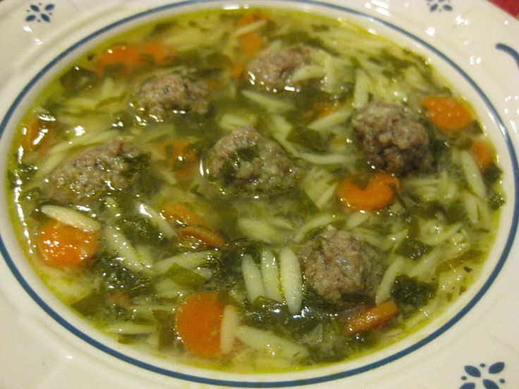 Italian Wedding Soup | Soups On | Pinterest