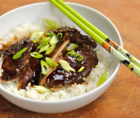 Slow cooker soy braised chicken, so good you'll want to double the ...