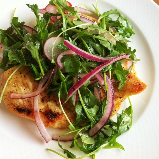 Chicken Milanese with Arugula Salad | Fooooood! | Pinterest