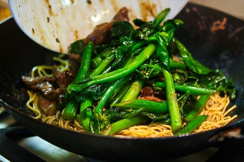 Chinese Broccoli Beef Noodle Stir Fry | Recipe