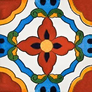 NEW DESIGN! Talavera Tile #Talavera #Tile #Mexico #Home #Decor