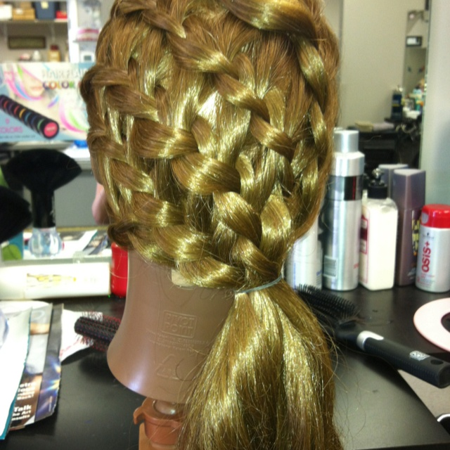 How To Make A Basket Weave Hairstyle : Pin by cherri edwards on basket weave hair