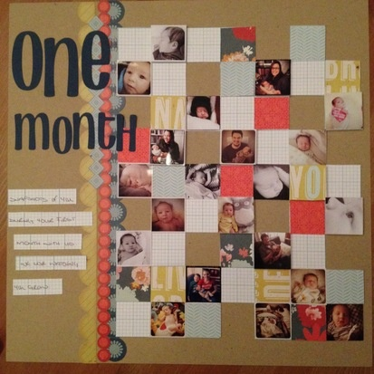 One Month by Roxy at the Studio Calico Memeber Gallery