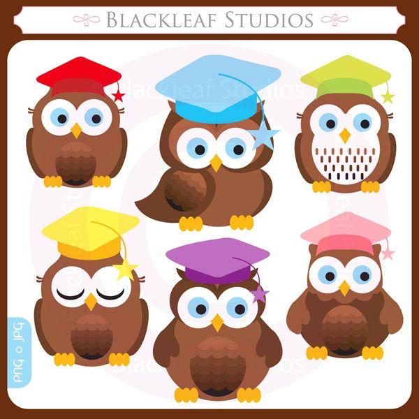 Graduation Owl Clip Art