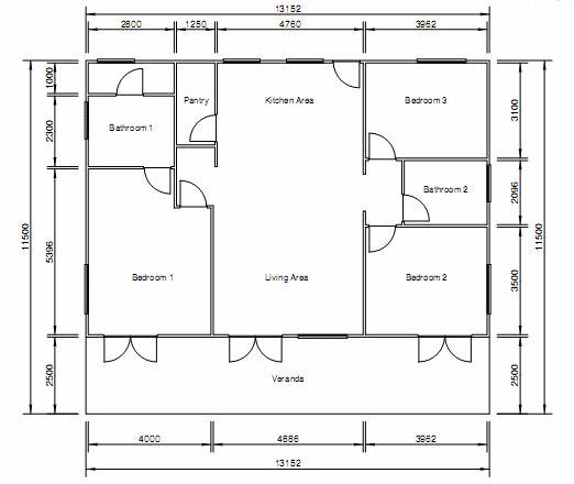 7 Bedroom House Floor Plans Woloficom