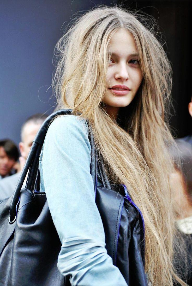 #modelhair #messyhair #blonette #blondette