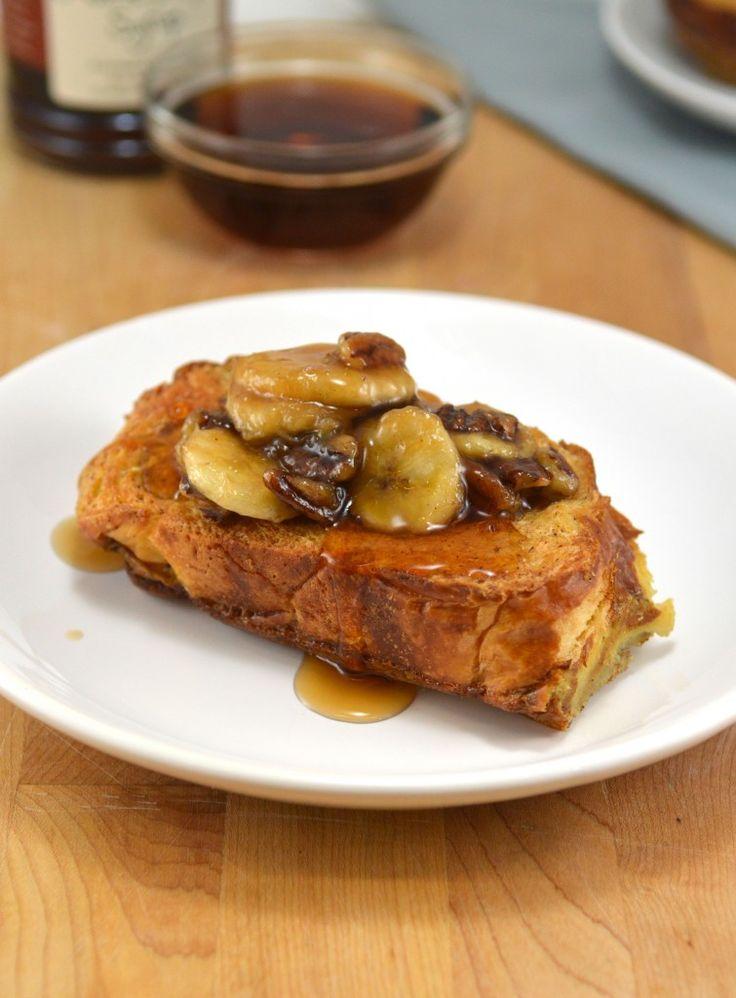 Skinny Caramelized Banana French Toast | Parisian Cafe Talk ...