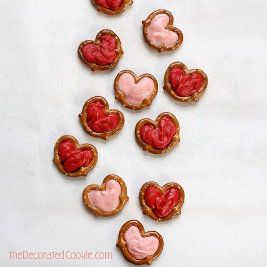 valentine's day pretzels recipe