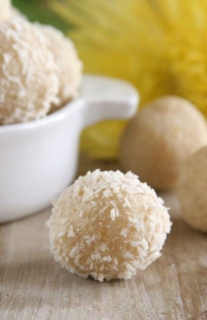 Lemon Meltaways (vegan, gluten-free) | Food | Pinterest