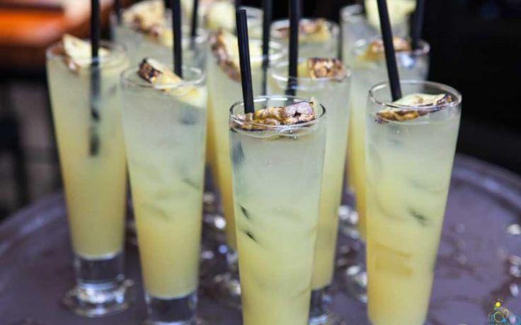 Pineapple Sangria   I love Jesus, but I drink a little.   Pinterest
