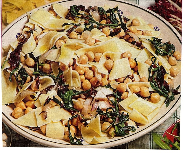 pasta shells with chickpeas and arugula recipes dishmaps pasta shells ...