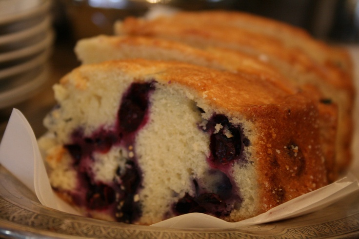 Blueberry Tea Cake | Green Gables Inn | Pinterest