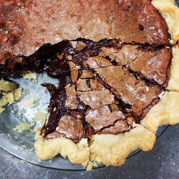 "... ! We're testing a North Carolina specialty known as ""Tar Heel Pie"