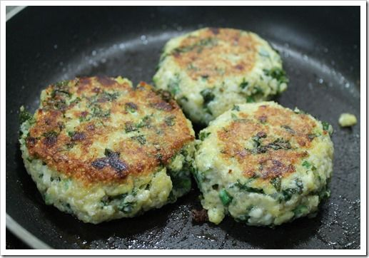 EASY Kale and Quinoa Patties - gluten free and filling!