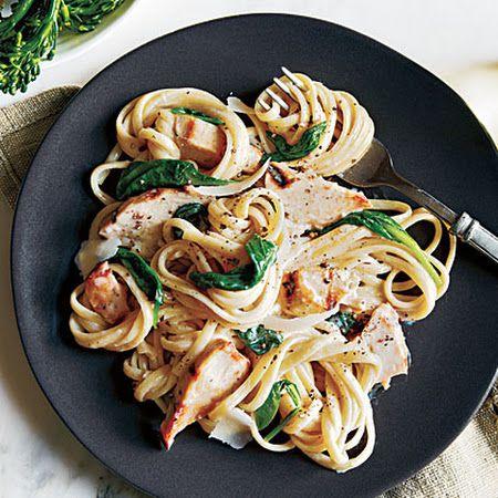 Grilled Chicken Florentine Pasta | recipes | Pinterest