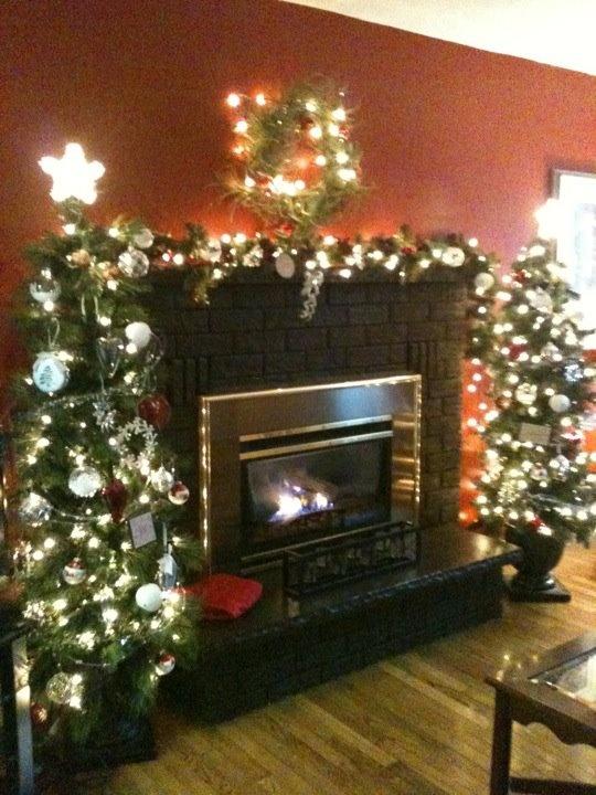 Christmas Fireplace Mantle Decor Christmas Hearth