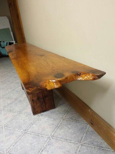 Table de salon en bois de grange de 14po  Bois de grange  barnwood  ~ Table De Salon En Bois De Grange