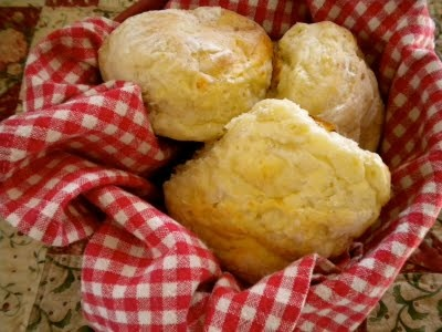 Cottage Cheese Biscuits (rolls)  -use search window in link to find her recipe