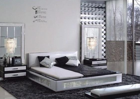 Black N Silver room