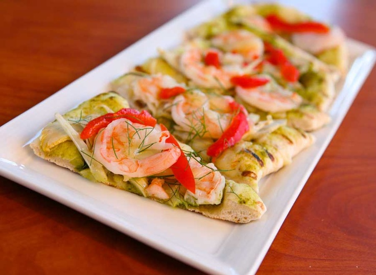 Shrimp Flat Bread at Disney's PCH Grill at the Paradise Pier Hotel