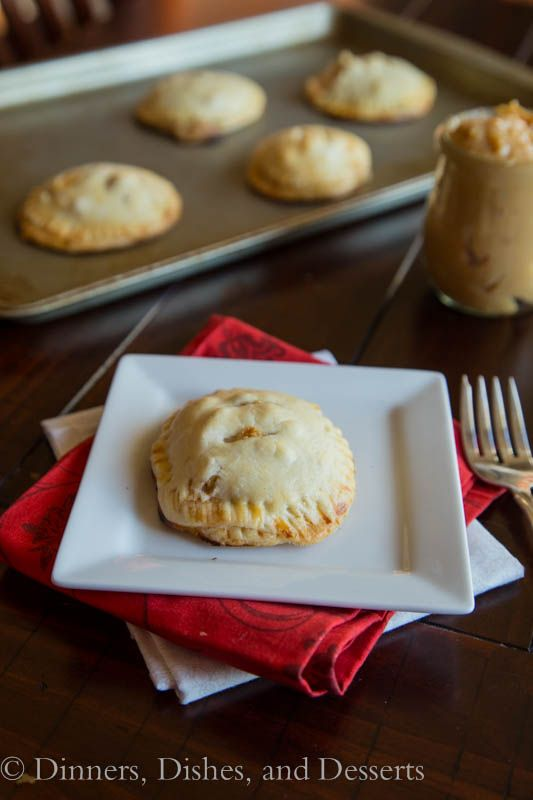 Dulce de Leche Apple Hand Pies (#giveaway from @OXO and @L E creuset)