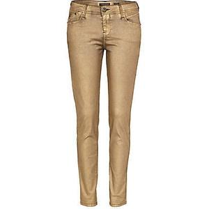Gold Skinny Jeans