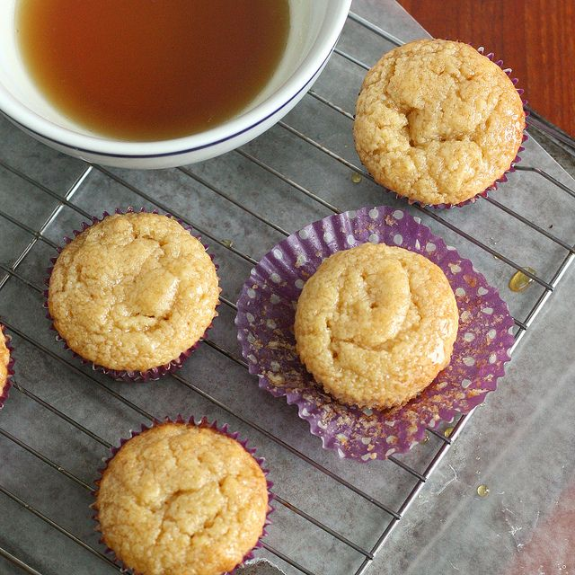 Maple Syrup Pancake Muffins by Tracey's Culinary Adventures