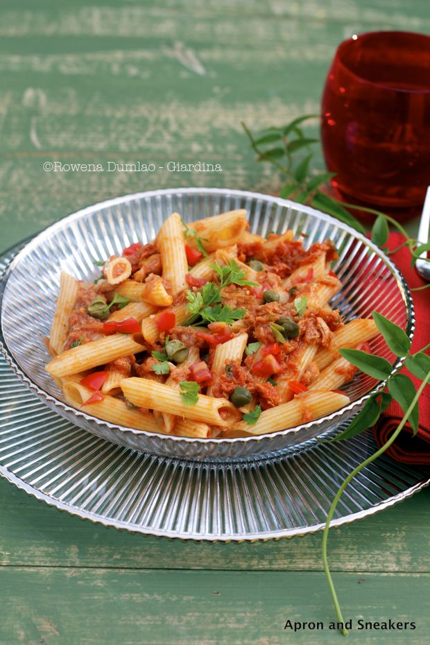Tuna And Caper Tomato Pasta Recipes — Dishmaps