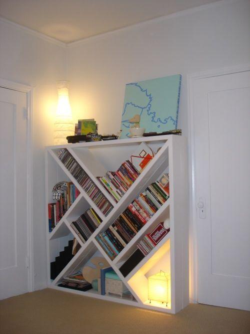 Diy bookcase for the home pinterest for Diy shelves pinterest