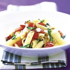 Pasta with Basil, Tomatoes, and Feta   Food For Thought   Pinterest