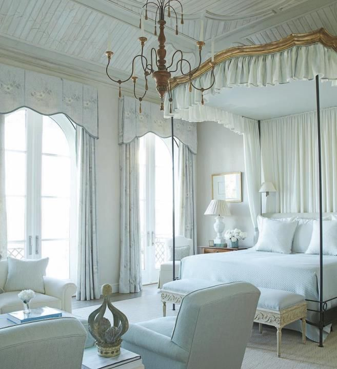 Elegant Blue Bedroom French Decor Pinterest