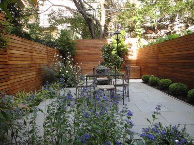 Brooklyn backyard by Flos Gardens Garden Pinterest