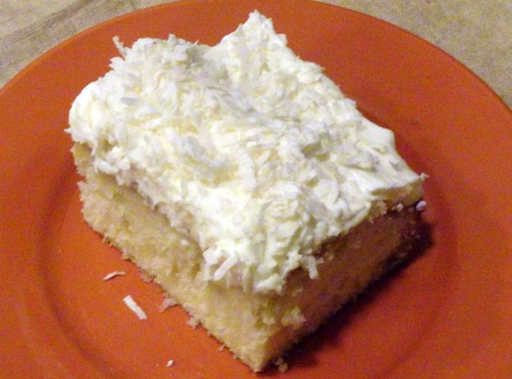 Yum... I'd Pinch That! | Coconut Cloud Cake
