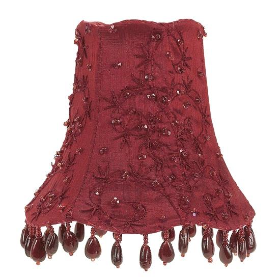 Chandelier shade starburst red lamp shades pinterest