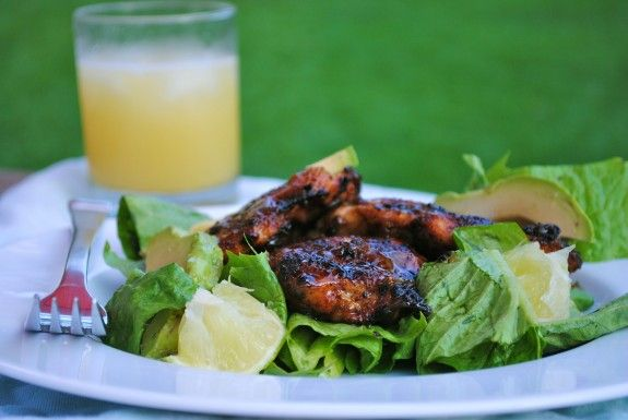 Tequila-Glazed Chicken Thighs | FOOD // Delish... | Pinterest