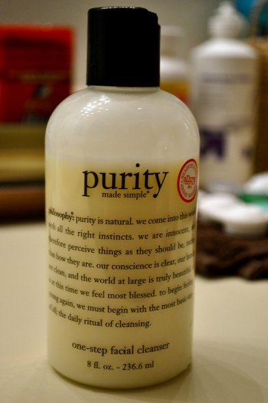 face wash, besides, dermalogica( ultra calm cleanser). Melts off ...