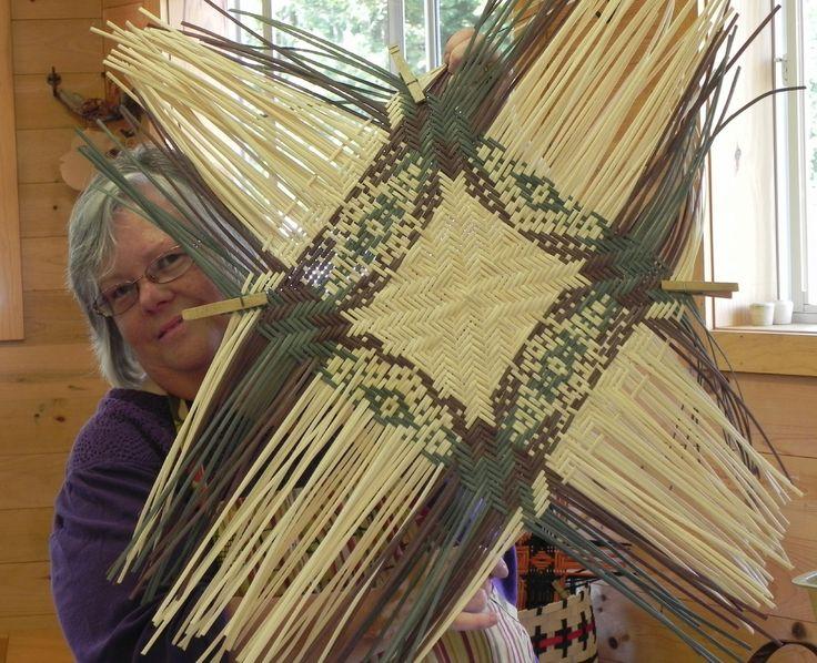 Indian Basket Weaving Kits : Pin by kit white on basketry gourd art weavings