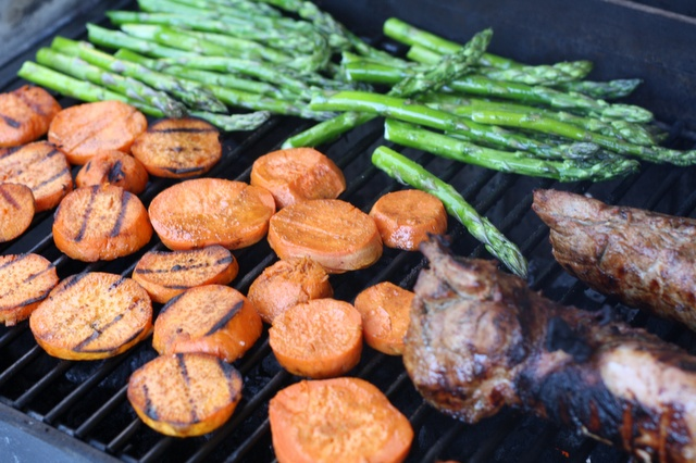 Grilled sweet potatoes | Recipes: Vegetables and Side Dishes | Pinter ...